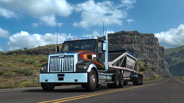 American Truck Simulator - Western Star 49X Full Version
