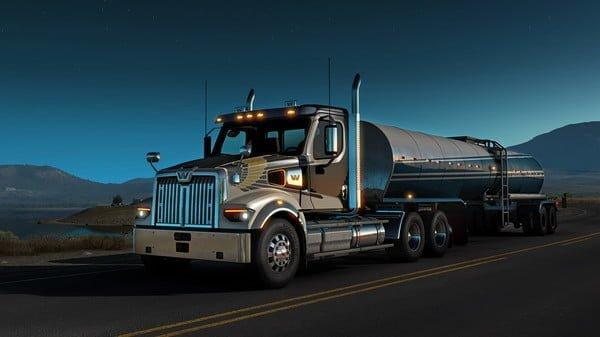 American Truck Simulator - Western Star 49X Full Crack
