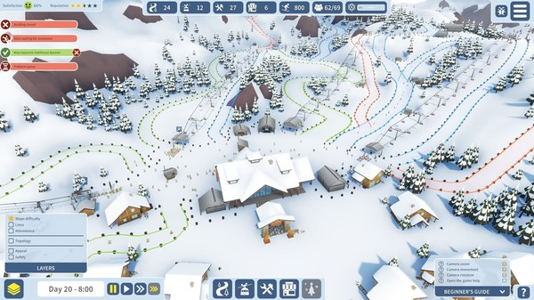 Snowtopia: Ski Resort Tycoon Crack Free Download