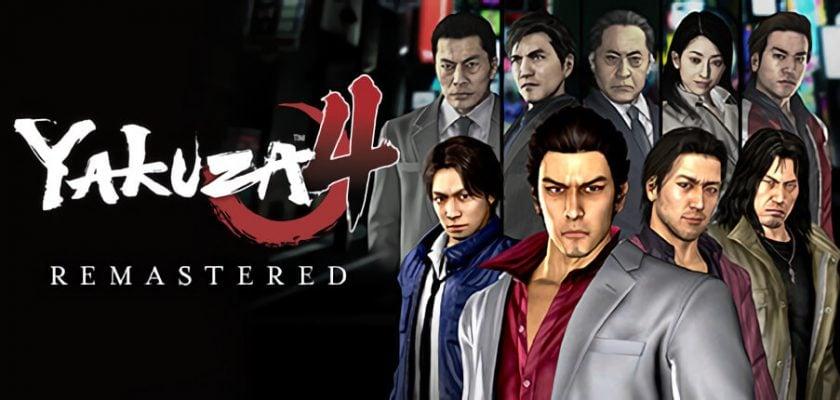 Yakuza 4 Remastered Crack Free Download