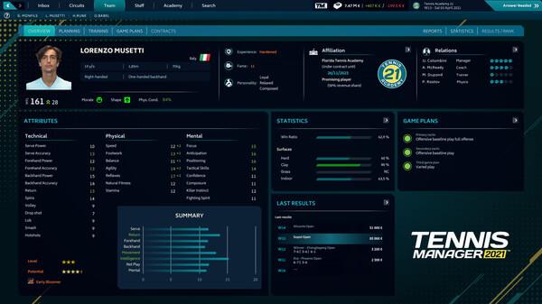 Tennis Manager 2021 Crack Free Download