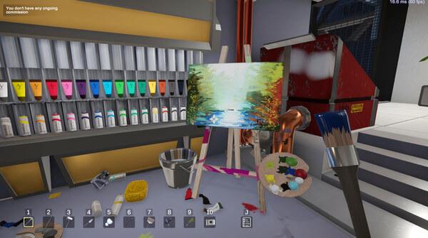 SuchArt: Genius Artist Simulator Crack Free Download